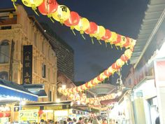 Singapour : Orchad Road, Chinatown