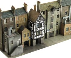 From Scalescenes. This guy's a genius and the kits are amazing quality, superb value and a joy to use. Fun Stuff, Miniature, Joy, Cabin, Teaching, House Styles, School, Amazing, Ideas