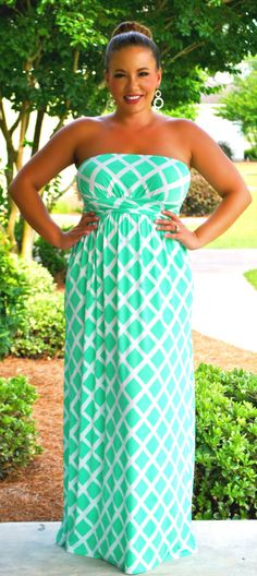 Perfectly Priscilla Boutique - X Marks The Spot Maxi  (Mint), $49.00 (http://www.perfectlypriscilla.com/x-marks-the-spot-maxi-mint/)