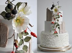 Wedding autumn cake by CakesVIZ