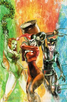 """Puddin' pop tart cover by Steve Pugh! """"Convergence: Harley Quinn"""" shows that she's part of the action!"""