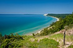 Venture to nearby Sleeping Bear Dunes, which never fail to impress, no matter how many times you've visited. Sweeping views of Lake Michigan will take your breath away.