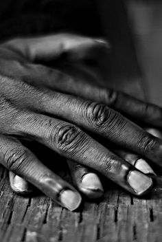 Hands tell a story