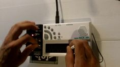 Circuit Bent Pocket Miku Gakken synth by Psychiceyeclix