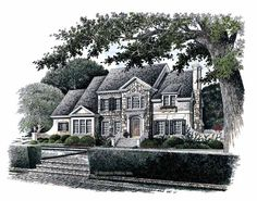 Colonial House Plan with 3227 Square Feet and 5 Bedrooms from Dream Home Source | House Plan Code DHSW42443 obsessed