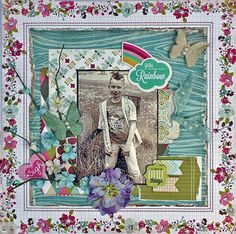 Step by Step Layout Video by Carla Marchee July Limited Edition kit 2013