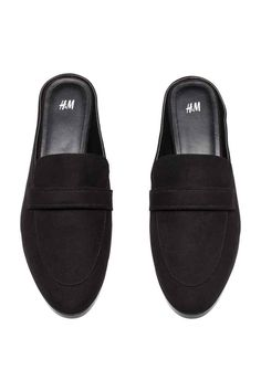 Backless loafers - Black - Ladies | H&M