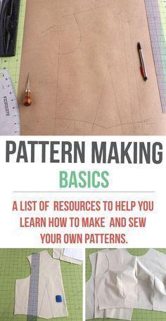 Making a basic bodice pattern