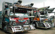 Really modded monster trucks