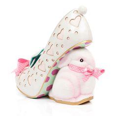 Hop Along... accidentally vegan Irregular Choice bunny heels!