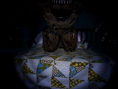 Nightmare Freddy animatronic from Five Nights at Freddy's 4. #FNAF4