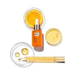 RoC Multi Correxion Revive - Vitamin C Glow Daily Serum - 1.0 Fl Oz : Target Reduce Under Eye Bags, Tighter Skin, Bright Skin, Anti Aging Serum, Even Skin Tone, Free Makeup, Skin Brightening, Vitamin C, Perfume Bottles