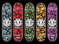 Skateboard - Ideas 8 - Element icon with mixed objects illustrated in one simplistic colour Skateboard Logo, Skateboard Design, Icon Design, Design Art, Design Ideas, Surf, Thrasher Magazine, Hippie Painting, Cool Skateboards