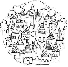 mandalas infantiles,dibujos infantiles,grafomotricidad,Doslourdes