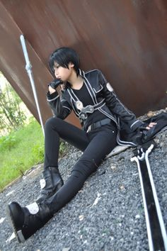 Read Kirito from the story Cosplay Manga [Terminé] by inesines_k (ARMY ♡~) with 499 reads. Sword Art Online Cosplay, Cosplay Sword, Sword Art Online Kirito, Epic Cosplay, Amazing Cosplay, Cosplay Outfits, Anime Cosplay, Amazing Costumes, Cosplay Ideas