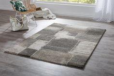 Dieser Webteppich Mit Muster In Grau Und Beige Eignet Sich Perfekt Für Den  Eingangsbereich. Durch