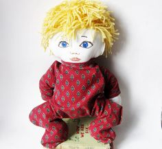 Boy  Doll Russian or Scandinavian or German Or by Meoneil on Etsy, $45.00