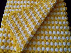 Örgü Bebek Battaniyesi Yapılışı