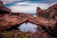 Cueva La Negra. Tejina. by ElbaFragoso  coast rocks 500px tokina longexposure arco canon6d Ocean Tenerife Tejina populartags haidafilters Da