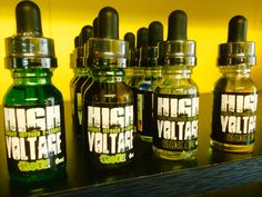 New Juice with Caffeine or Melatonin!  Both available with or without nicotine.
