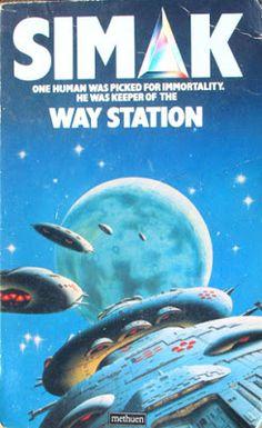 Un universo de Ciencia Ficción: 1963-ESTACIÓN DE TRÁNSITO - Clifford D.Simak