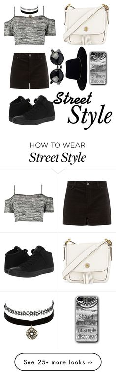 """Street Style"" by awwitsmee on Polyvore featuring Boohoo, Converse, Tory Burch, Zimmermann and Charlotte Russe"
