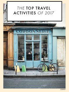 The Top Travel Activities of 2017