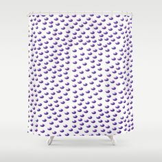 Purple #Polka #Dots #Shower #Curtain