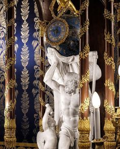 As time goes by art reaches the value to remain with us - Today is the turn of a time allegory located in the Kings Antechamber. This masterpiece was made by one of the bests artisans of 1800 in Madrid: designed by J. D. Dugourc the machinery that includes a flute organ was made by François-Louis Godon and the delicated bronzes by Domingo de Urquiza. This clock traveled through different palaces and chambers and was placed at first time in La Casa del Labrador merging with the beautiful… Source Of Inspiration, Daily Inspiration, The Value, As Time Goes By, Vignettes, Gallery Wall, Fine Art, Instagram Posts, Palaces