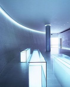 Teatro Armani lobby, Milan | Tadao Ando