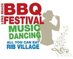 The Long Beach BBQ Festival - August 19-21. Sea Festival Rainbow Lagoon Southern California - All You Can Eat Ribs - KCBS BBQ Competition - Lucille's Smokehouse Barb-B-Que