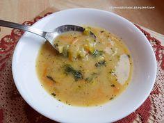 Chute mojej kuchyne: Jemná cícerová polievka s pórom a mrkvou