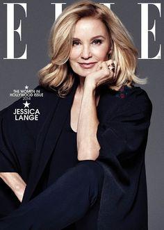 hbicjessicalange: Jessica Lange - Elle Magazine November 2014