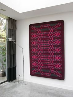textile wall-object nr.053   -2014