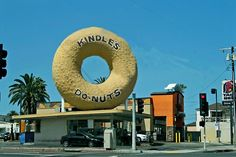 KINDLES DONUTS    Los Angeles, CA    Here's another famous Los Angeles and Route 66 landmark. This was formerly part of the Big Donut Chain.