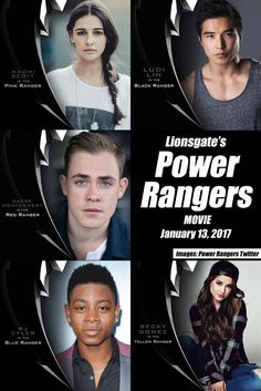 Five Core Members Completed! Lionsgate's Power Rangers Movie Casts Becky Gomez and RJ Cyler | HEROScoop