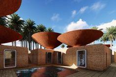 Temperature-dropping Terracotta Terraces!