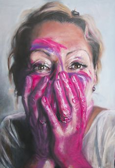 Emma-Leone Palmer paints faces, but what she strives to capture are the deep wells of feeling and emotion that. Distortion Art, Advanced Higher Art, Contrast Art, A Level Art Sketchbook, Art Alevel, Ap Studio Art, High Art, Contemporary Paintings, Art Studios