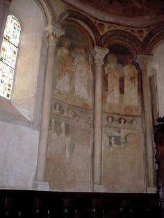 Cathédrale Saint-Lizier, Ariège. Cul-de-four de l'abside.