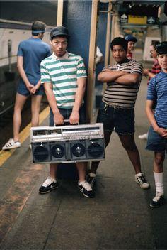 Jamel Shabazz: 'Back in the Days', Brooklyn, 1982.