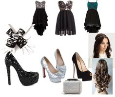 """prom"" by nikki-jcluforever ❤ liked on Polyvore"