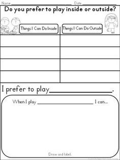 Differentiated Opinion Writing: Common Core Aligned for Kindergarten & First Grade $