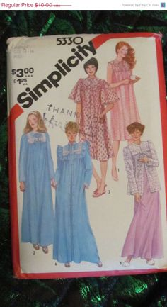 SALE Uncut 1980's Simplicity Sewing Pattern 5330 by EarthToMarrs, $8.00