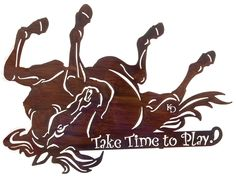 Playing Horse   Rustic Wall Art  www.rusticeditions.com