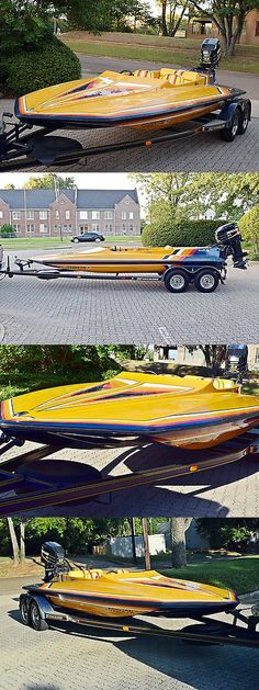 1990 Hydrostream Custom HST Boat Over 100 MPH K... - Exclusively on #priceabate #priceabateBoats! BUY IT NOW ONLY $14250 Fast Boats, Cool Boats, Speed Boats, Power Boats, Boat Crafts, Water Crafts, Boat Pics, Bass Fishing Boats, Ski Boats