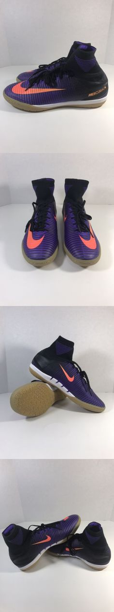 Men 109133: Nike Mercurial X Proximo Ic Soccer Indoor Shoes Hyper Purple Black Size 9 -> BUY IT NOW ONLY: $54 on eBay!