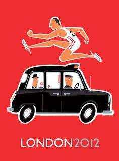 2012 London Olympics Taxi on Behance