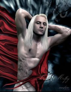 Fan Art of Lucius Malfoy for fans of Jason Isaacs. The photo is not mine