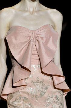 New York Fashion Week, Badgley Mischka Couture fashion designer, Spring 2012 Myanmar Dress Design, High Fashion, Womens Fashion, Dress Sewing Patterns, Fashion Sewing, Badgley Mischka, Elie Saab, Fashion Details, Couture Fashion