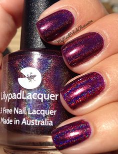 My Nail Polish Obsession: Lilypad Lacquer True Blood